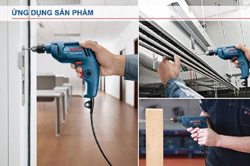 Khả năng làm việc của máy khoan Bosch GBM 320