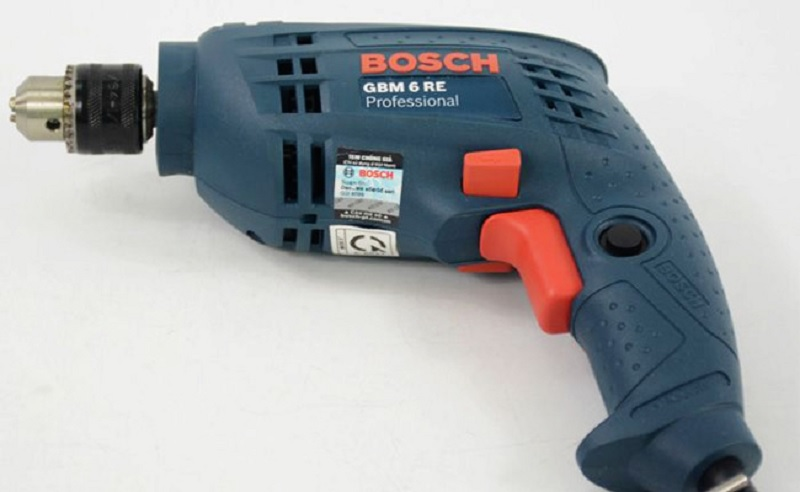 Bosch GBM 6 RE có thiết kế nhỏ gọn, tiện dụng