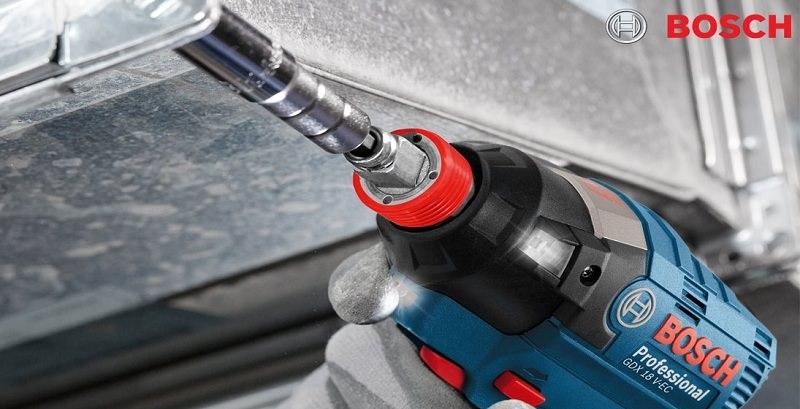 Khả năng làm việc của Bosch GDX 18v-EC
