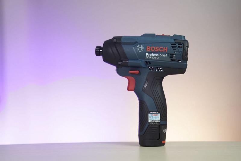 BoschGDR 12 LI được thiết kế thông minh, hỗ trợ tốt cho công việc