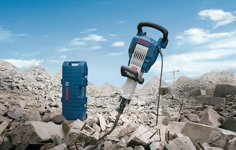 Bosch GSH 16-30 là trợ thủ đắc lực trong ngành xây dựng