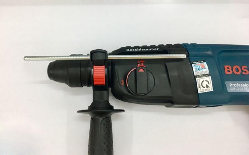Khả năng làm việc của khoan búa Bosch GBH 2 26 RE