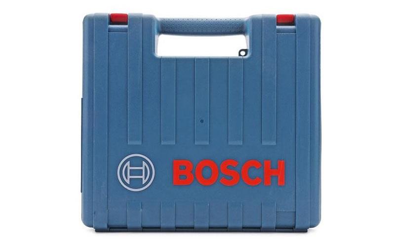 Máy khoan Bosch GBH 2-26E được đựng trong hộp nhựa chắc chắn