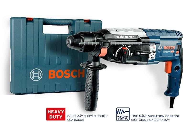 Bosch GBH 2 28 DV sở hữu tính năng chống rung vượt trội