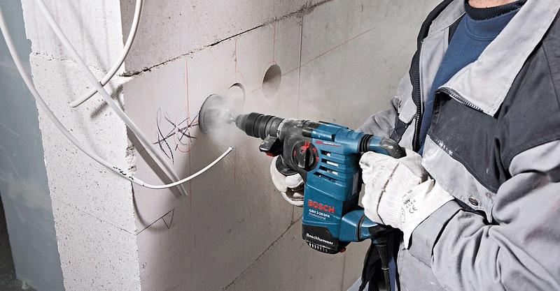 Bosch GBH 3-28 DRE có khả năng làm việc vượt trội