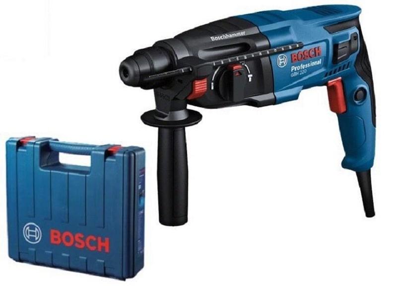 Máy khoan Bosch GBH hoạt động mạnh mẽ