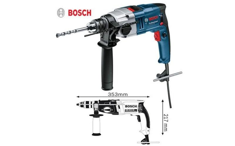 Bosch GSB 20-2 RE có thiết kế chắc chắn