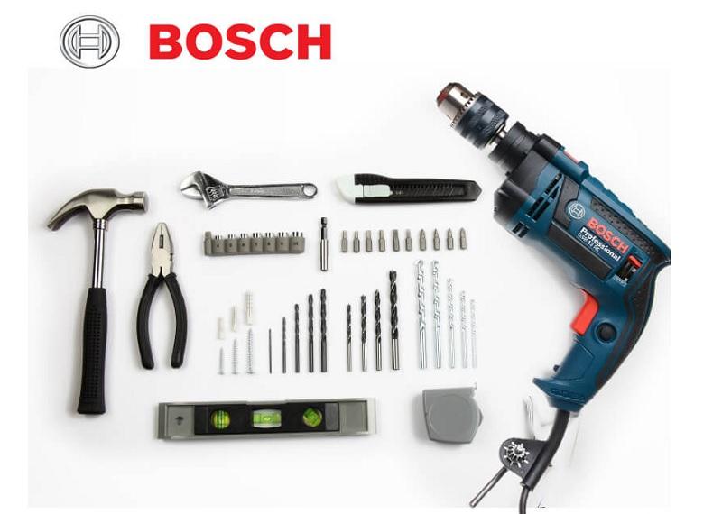Bên trong bộ máy khoan Bosch GSB 13 RE SET 100