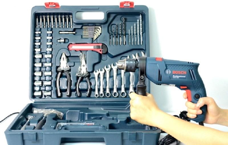 Giới thiệu bộ máy khoan động lực GSB 550 100 chi tiết