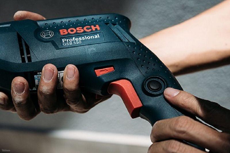 máy khoan động lực Bosch GSB 550 19 món