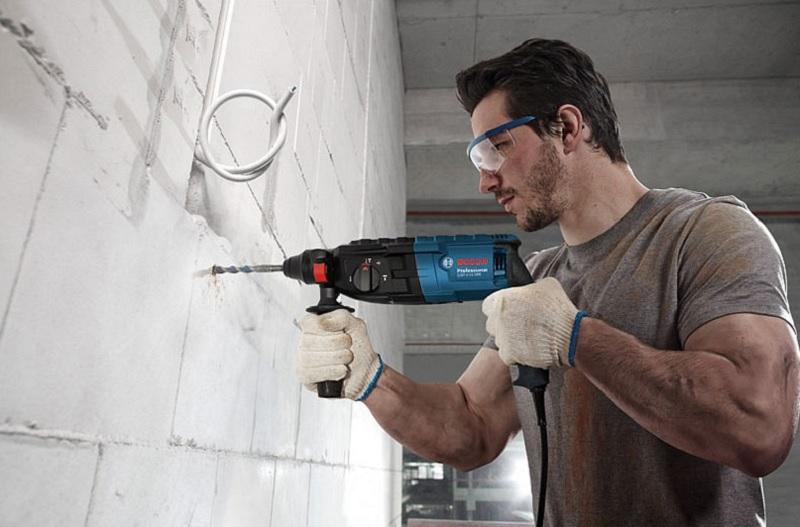 Các dòng máy khoan bê tông Bosch phổ biến hiện nay