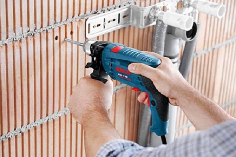 Hướng dẫn sử dụng máy khoan Bosch GSB 13 RE