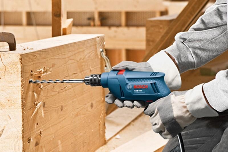 Các chế độ của máy khoan đa năng Bosch GSB 550