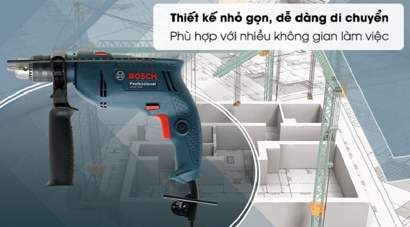 Máy khoan động lực BoschGSB 550 XL