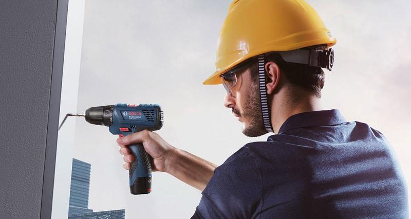 Khả nănglàm việc của máy khoan pin Bosch GSB 120 liGen 2