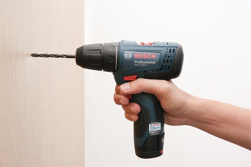 Khả năng làm việc của Bosch GSR 120 li Gen ii