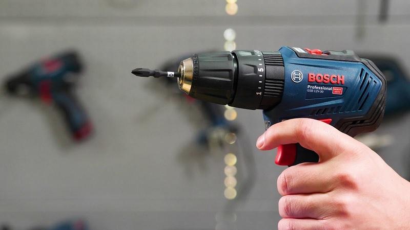 Bosch GSR 12V-30 có khả năng khoan vít mạnh mẽ
