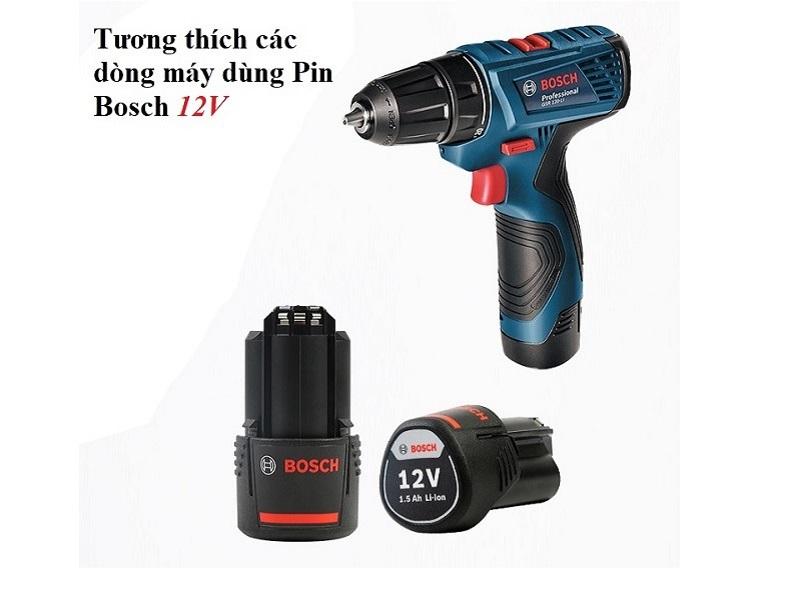 Pin cho máy khoan Bosch 12V - 1.5Ah