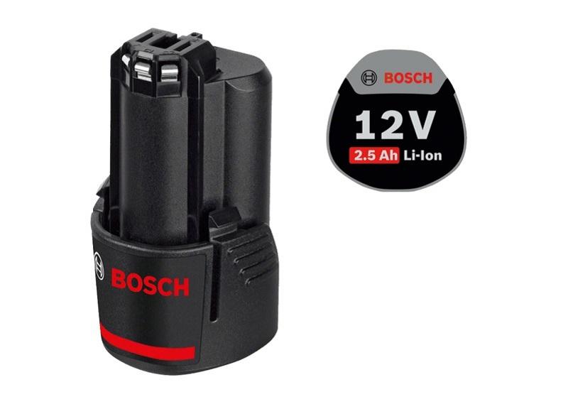 Pin cho máy khoan Bosch 12V - 2.5Ah