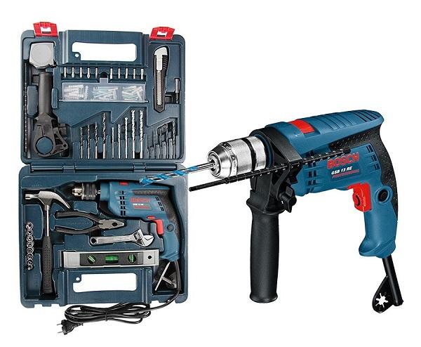 Bộ dụng cụ khoan đa năng Bosch GSB 13 RE SET 100