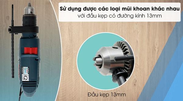 Đầu kẹp mũi khoan sử dụng cho máy khoan xoay và khoan động lực