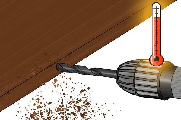 Lỗi máy khoan bị nóng và cách khắc phục