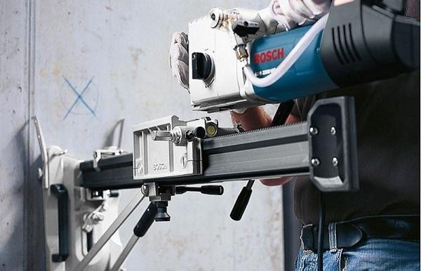 Hướng dẫn sử dụng máy khoan rút lõi bê tông