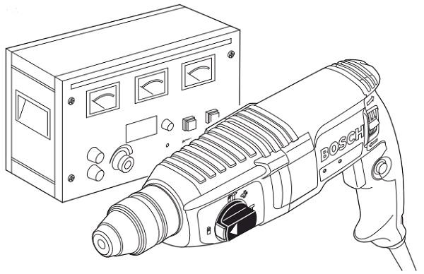Cách tháo máy khoan Bosch