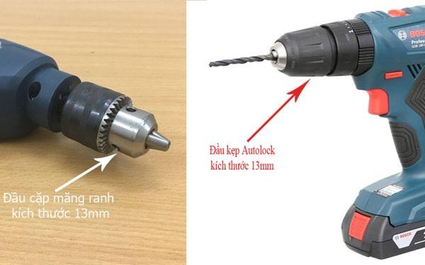 Đầu kẹp mũi khoan Bosch 13mm sử dụng cho nhiều dòng máy