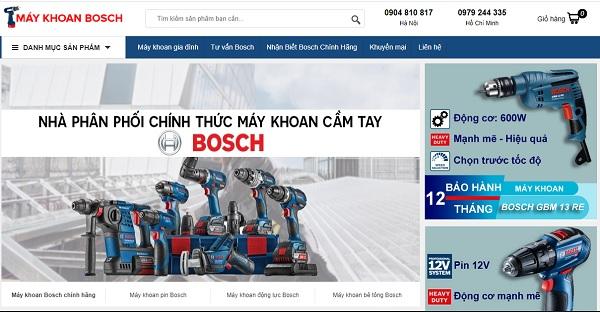 Địa chỉ bán máy khoan Bosch chính hãng