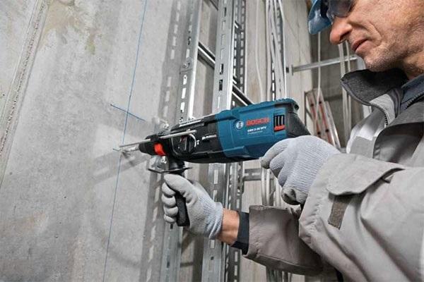 Ưu điểm nổi bật của máy khoan bê tông Bosch Trung Quốc