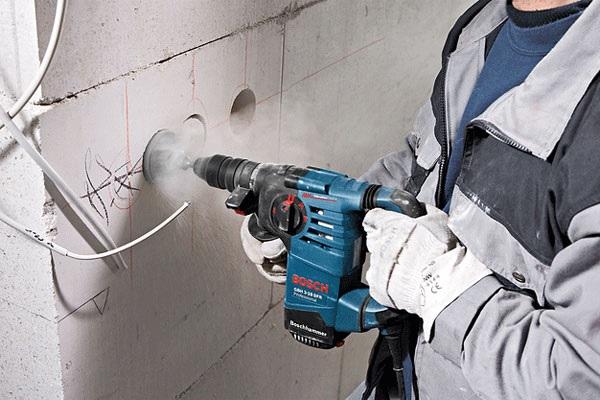 Phân loại máy khoan bê tông theo công suất