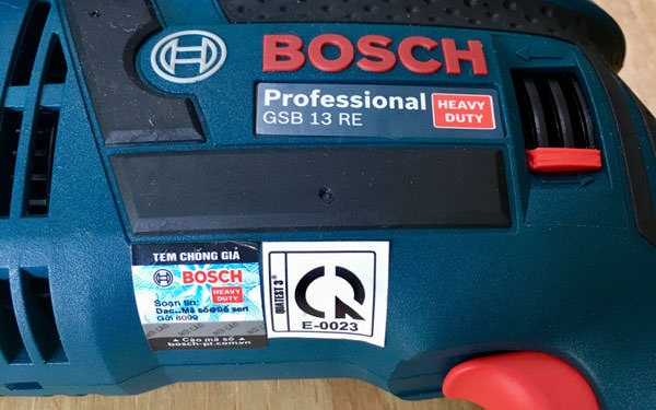 Nên mua máy khoan Bosch GSB 13RE chính hãng