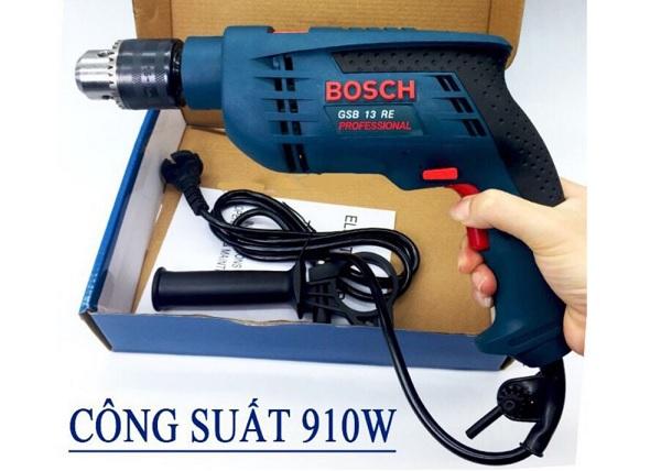 Sự thật về máy khoan Bosch GSB 13RE 910W, GSB 13RE 600W