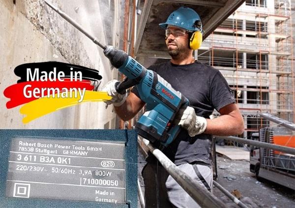 Ưunhược điểm của máy khoan Bosch xuất xứ Đức
