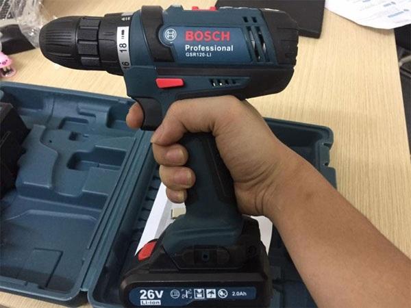 Có máy khoan pin Bosch 24V, 21V, 26V và 48V không?