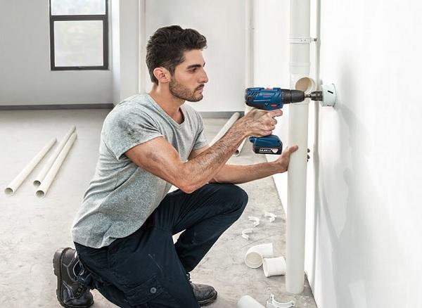 Các loại máy phù hợp để khoan tường