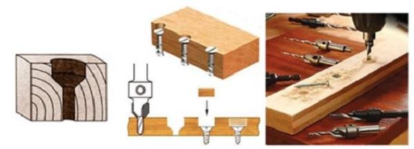 Công dụng của mũi khoan gỗ 2 tầng