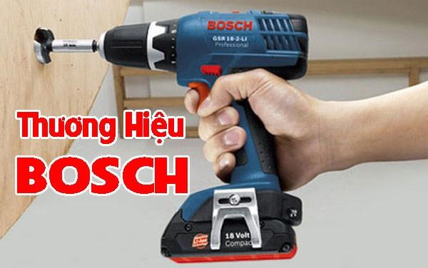 Đánh giá máy khoan pin Bosch