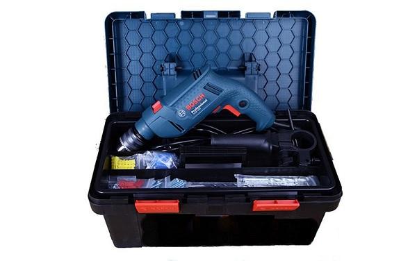 Máy khoan động lực Bosch GSB 550 (bộ set hộp công cụ freedom)