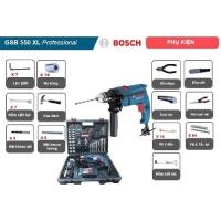 Bộ máy khoan động lực Bosch GSB 550 XL 2