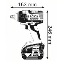 Máy pin siết bu lông Bosch GDS 18V-EC 300 ABR Solo 2