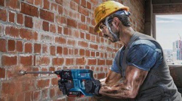 Top 3 máy khoan bê tông pin Bosch chất lượng, bán chạy nhất hiện nay