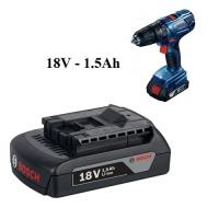 Pin cho máy khoan Bosch Pin 18V - 1.5Ah 2
