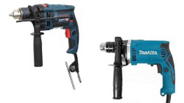 So sánh máy khoan Bosch GSB 16 RE với Makita HP1630