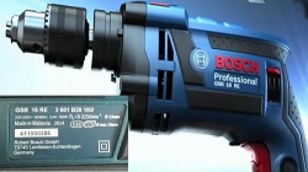 Top 3 máy khoan Bosch Malaysia tốt nhất hiện nay