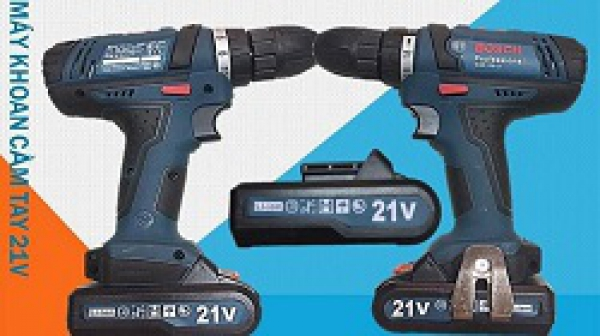 Máy khoan pin Bosch 24V, 21V, 26V và 48V có phải hàng chính hãng không?